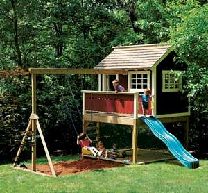 children playhouse diy